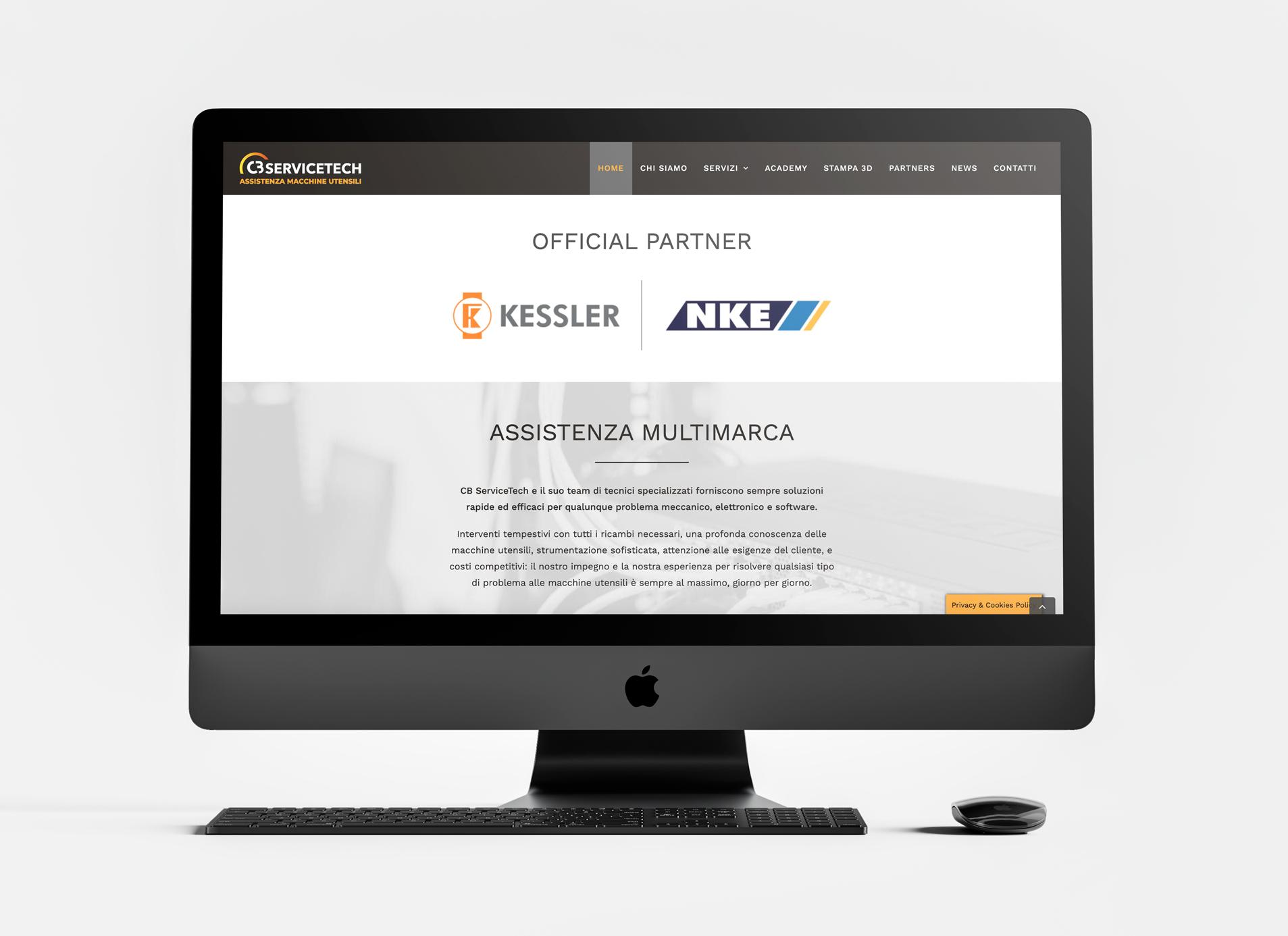 Luca Forlani Graphic Design CB ServiceTech web2