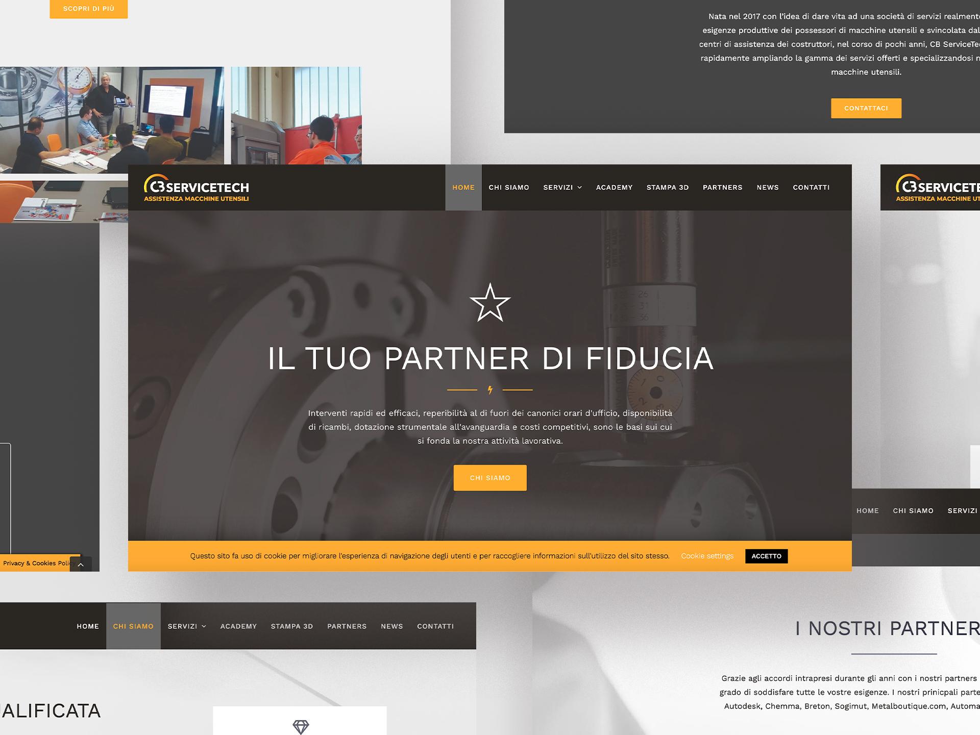 Luca Forlani Graphic Design CB ServiceTech web3