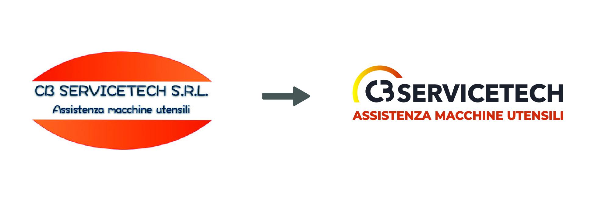 Luca Forlani Graphic Design CB ServiceTech img logo 6