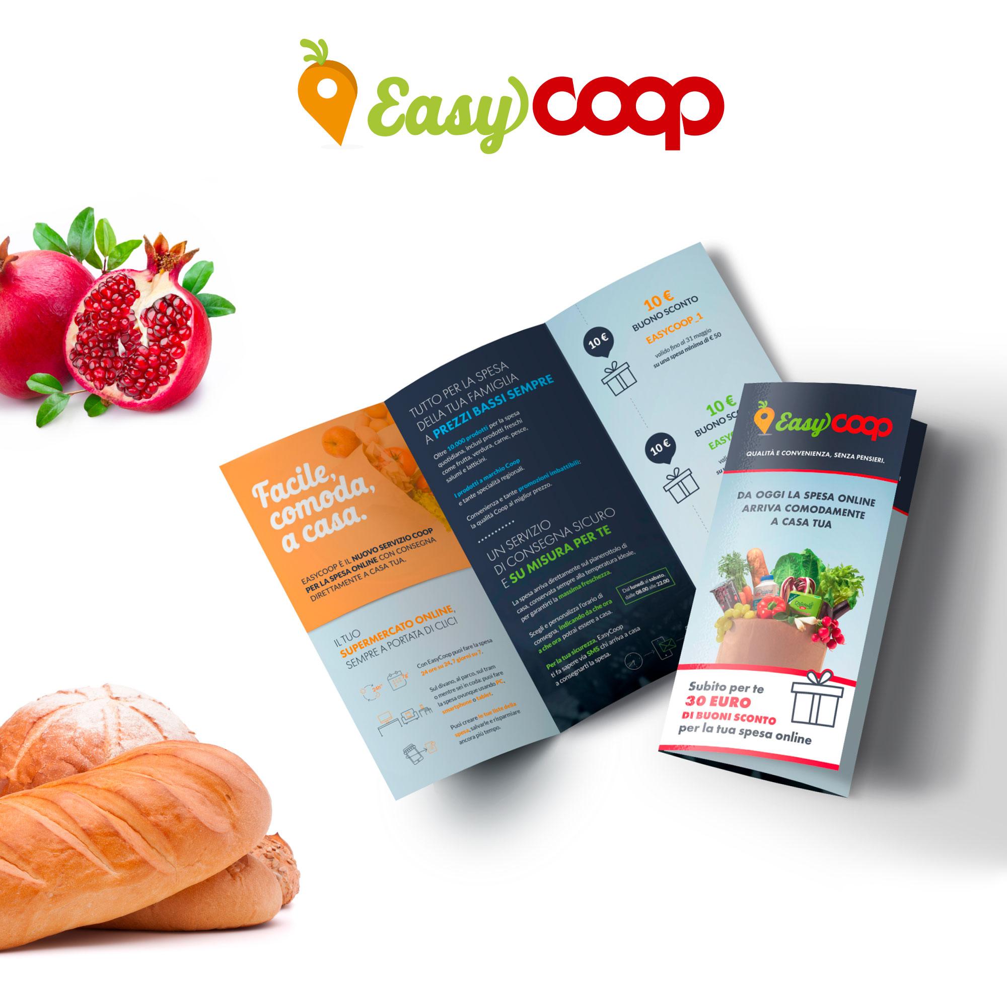 Luca Forlani Graphic Design EasyCoop 1