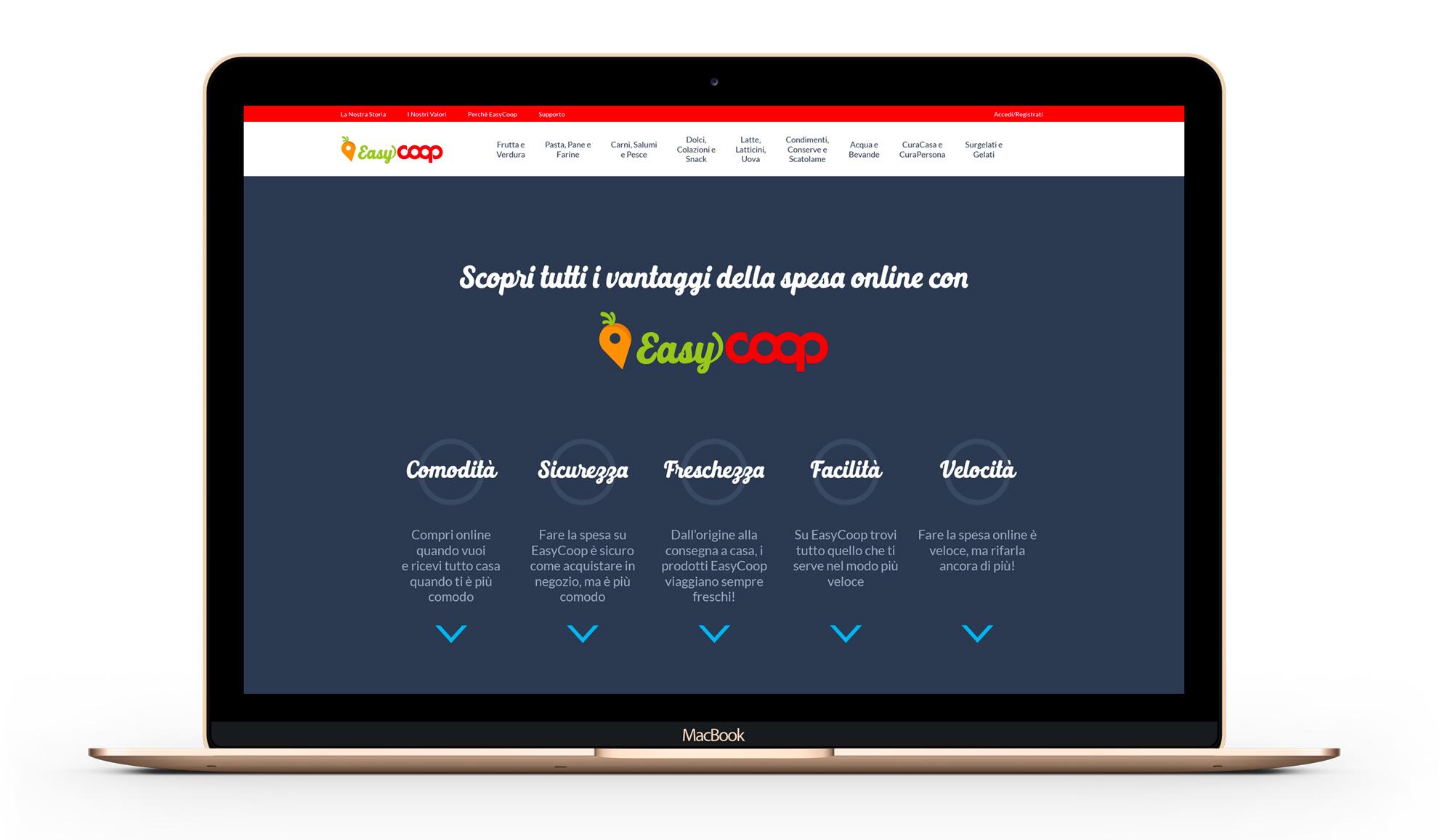 Luca Forlani Graphic Design EasyCoop comunicazione 5