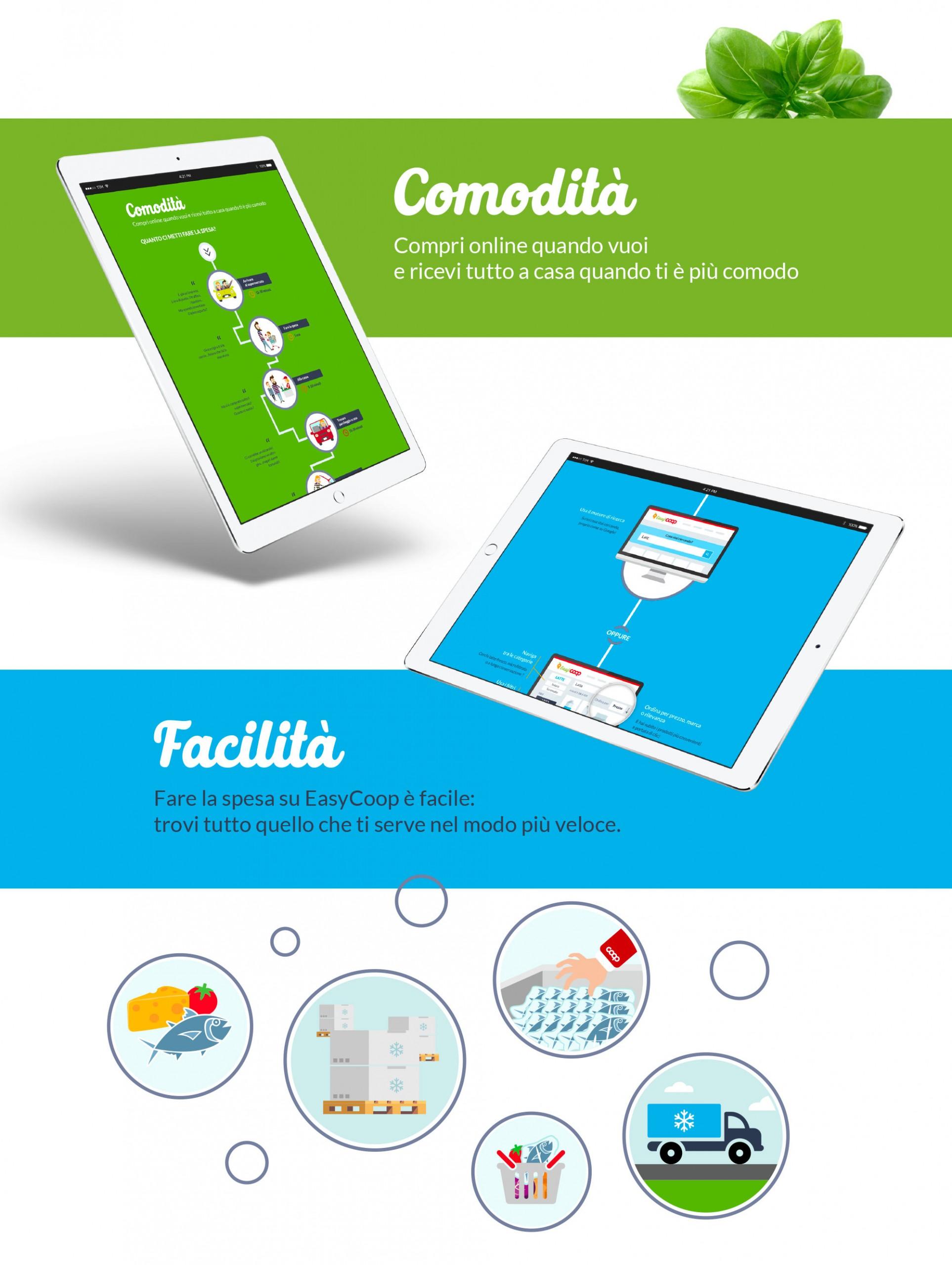 Luca Forlani Graphic Design EasyCoop comunicazione 3