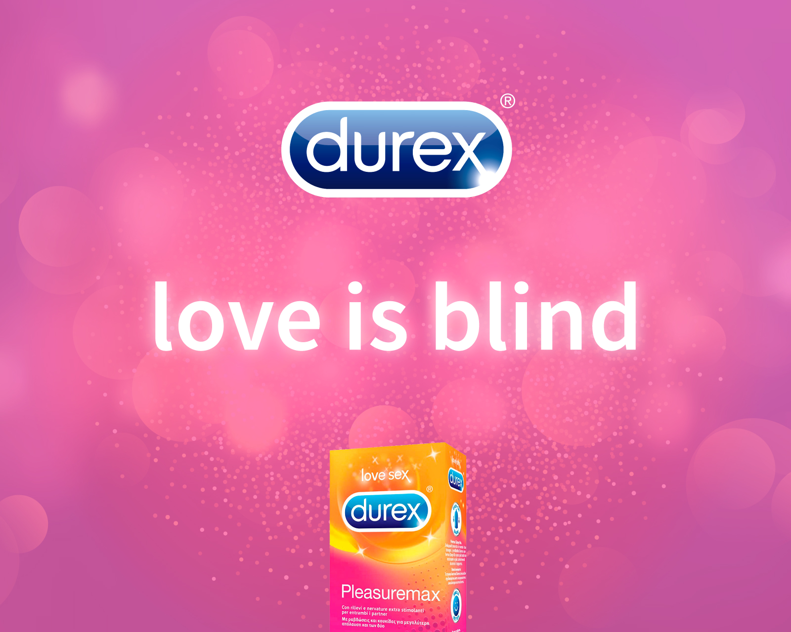 Luca Forlani Graphic Design Durex Pleasuremax Love is blind img cover